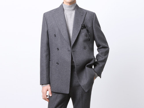 (select) sartorial double suit . gray※ 12월 20일 발송예정입니다