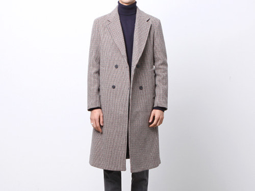 (select) hound check coat