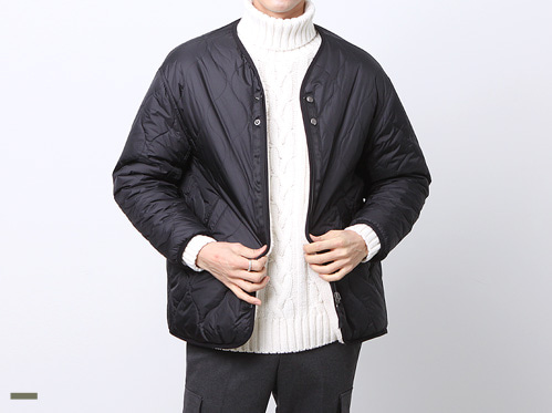 (select) wool quilting jacket