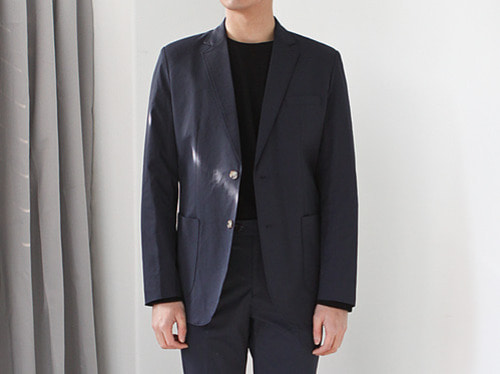 (select) daisy single suit . navy