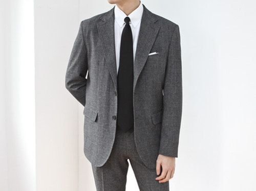 (select) presson single suit . gray