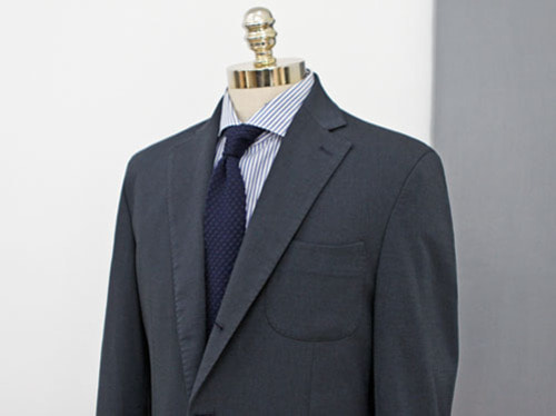 (select) theory cool linen suit . navy