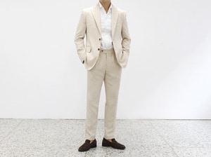 (select) kaminsky single suit . ivory *L세트1점SEASON OFF 40% SALE 교환 , 반품불가