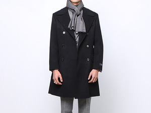 (select) mcqueen handmade double coat . blackSEASON OFF SALE 교환 , 반품불가