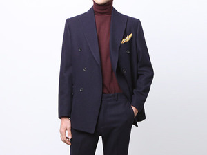 (select) sartorial double suit . navySEASON OFF SALE 교환 , 반품불가