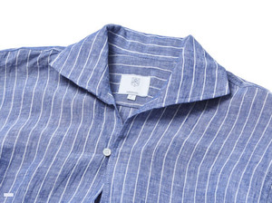 (select) pullover linen stripe shirts