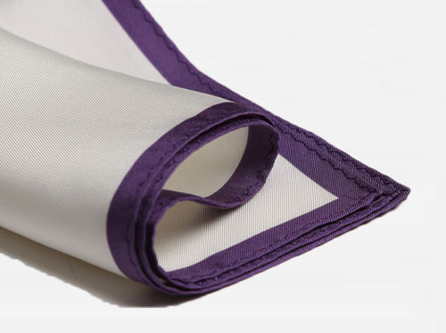 pocket square purple
