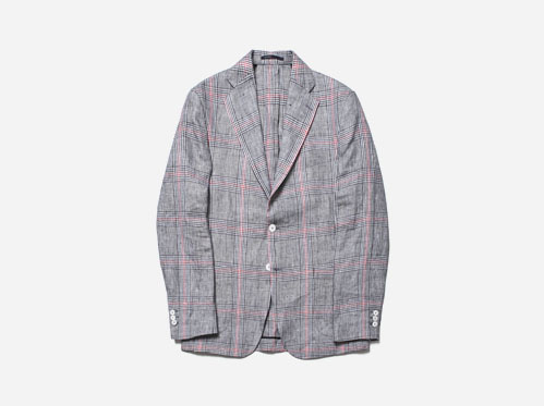 (select) 매그넘 린넨체크 자켓※ limited-edition linen check