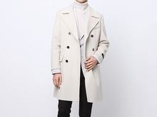 (select) mcqueen handmade double coat . ivory