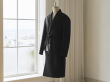 Button Seoul - cheil robe coat . black17AW 버튼서울 컬렉션