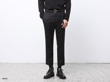 (select) pitch napping belt slacks※ 도매스틱브랜드 'DeeF House' 입점 10%할인