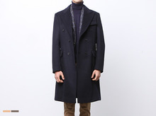 (select) wool double long coat