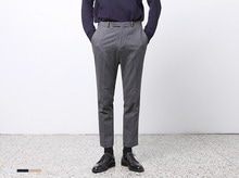(select) compact wool slacks