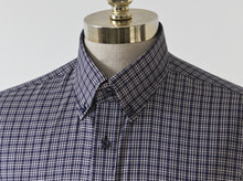 B.ROVER - TATTERSALL CHECK SH NAVYPREMIUM FABRIC