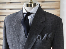 (select) marni double suit . charcoal