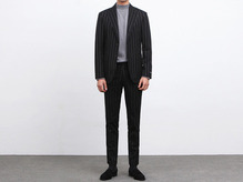 (select) lauren stripe suit