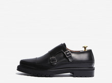 trendy double monk shoes