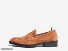 trendy suede loafer