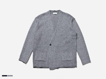 (select) wool double cardigan