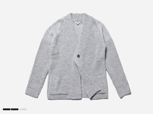 (select) aven one button cardigan