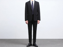 (select) ryan span suit . black