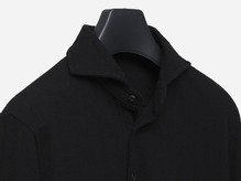 B.ROVER - LONG POLO T-SHIRTS BLACK