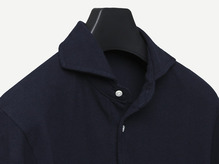 B.ROVER - LONG POLO T-SHIRTS NAVY
