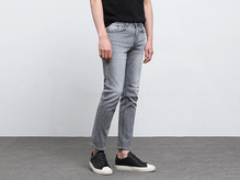 (select) gray washing jean