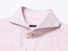 B.ROVER - CUT A WAY LINEN SH PINKS/S PREMIUM FABRIC