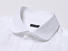 B.ROVER - CLUB COLLAR SH WHITES/S PREMIUM FABRIC